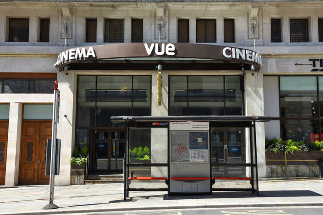 Cinemas were given the green light to reopen on July 4