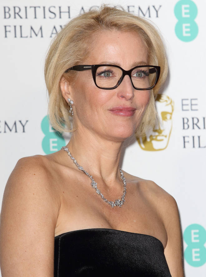 Gillian Anderson is a British-American actress