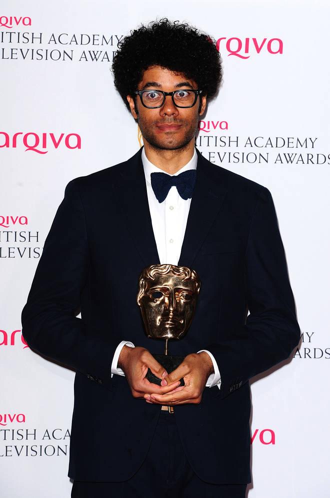 Richard Ayoade is presenting the BAFTAs 2020