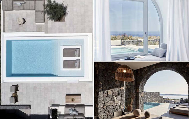 Santorini's beautiful retreat has come up tops
