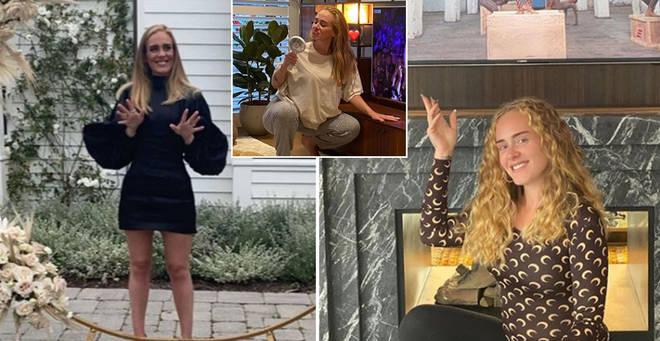 Adele has revealed her brand new hair