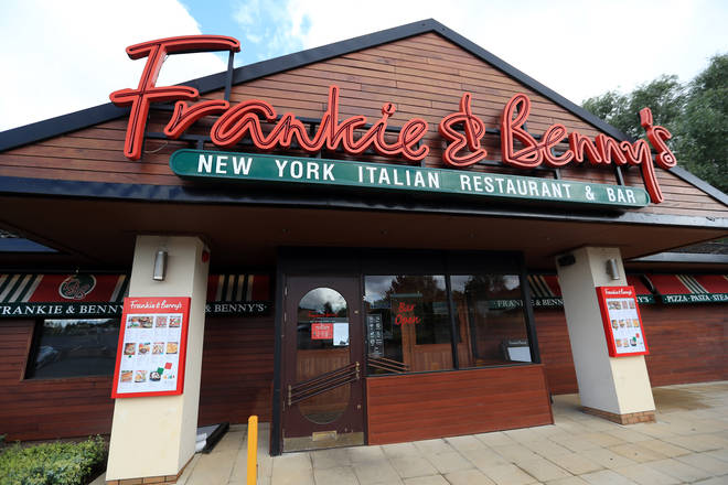 Frankie & Benny's has also signed up