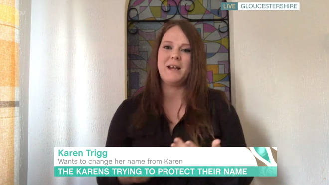 Karen Trigg appeared on This Morning