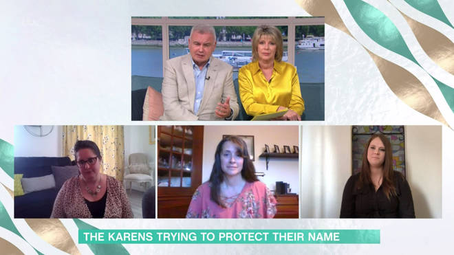 Three Karens appeared on This Morning