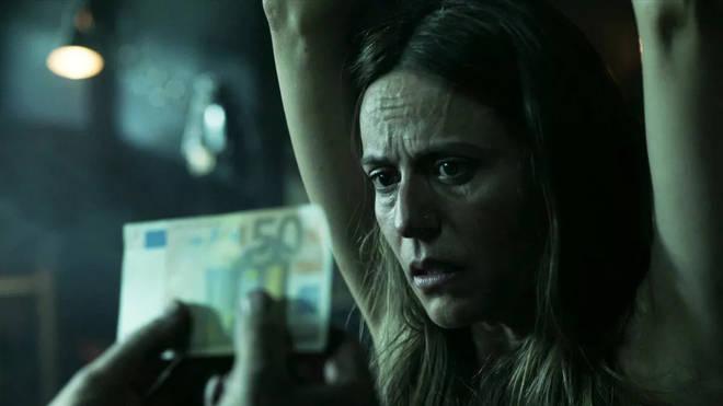 The Professor is lead to believe Raquel has been executed
