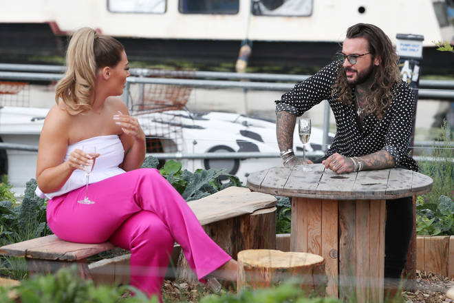Shaughna and Pete both appeared in Celebs Go Dating