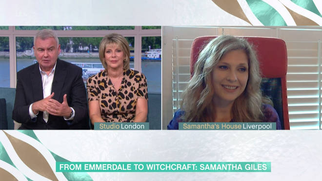 Samantha Giles appeared on This Morning to speak about her new book