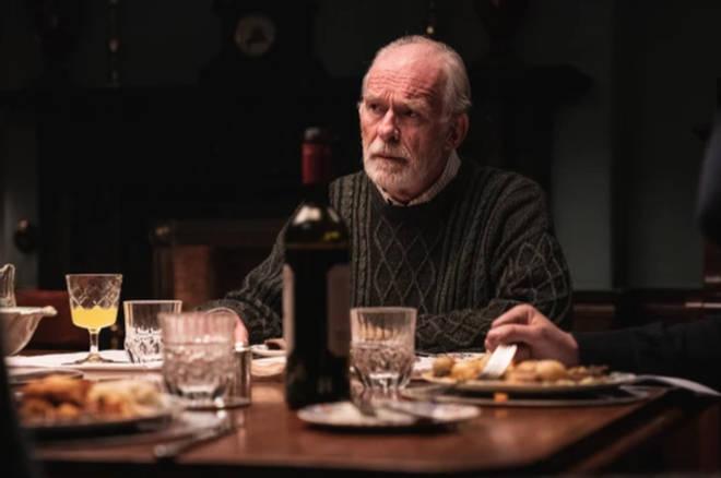 Ian McElhinney plays Hugh Callaghan in The Deceived