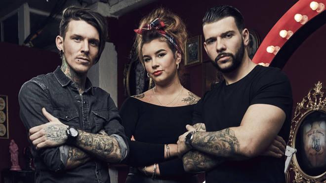 Tatto Fixers was filmed in Hackney