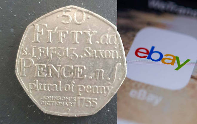 The coin has fetched an impressive amount on eBay