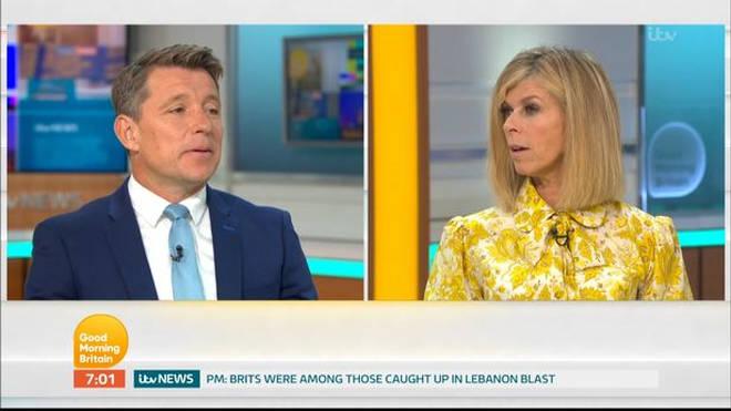 Ben Shephard is leaving Good Morning Britain