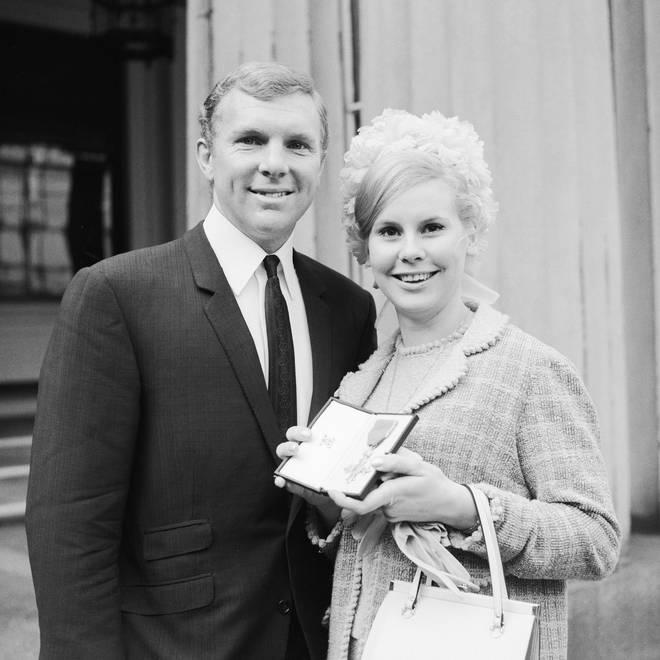 Tina and Bobby Moore met in 1957