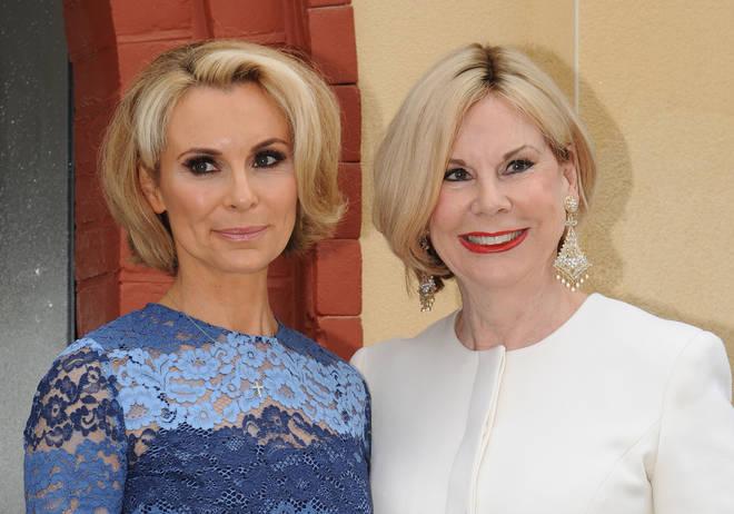 Tina Moore and her daughter Roberta