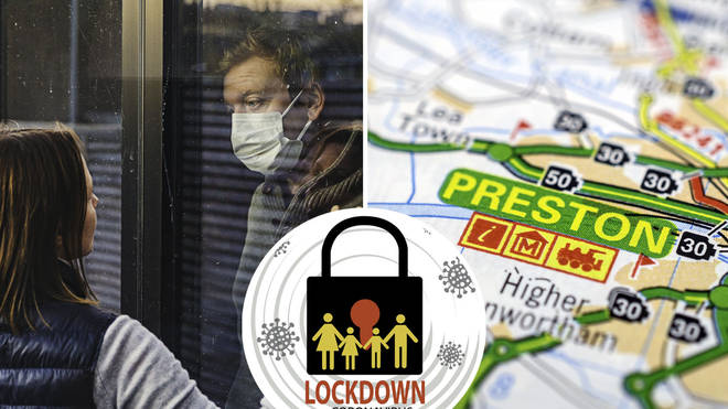 Preston could be the next area in the UK to go into a local lockdown