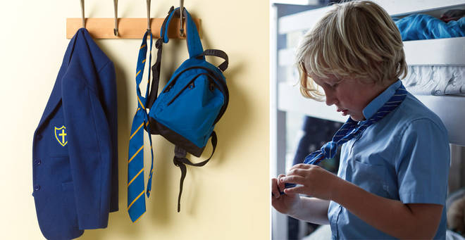 Some parents are able to claim a grant to help with uniform costs (stock images)