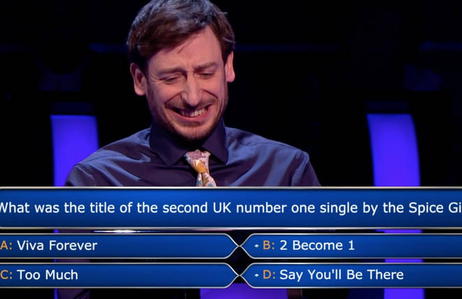 Paul Curievici admitted he had no idea what the answer to the Spice Girls question was