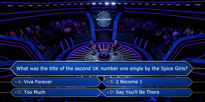 The player used all four of his lifelines on the £64,000 question
