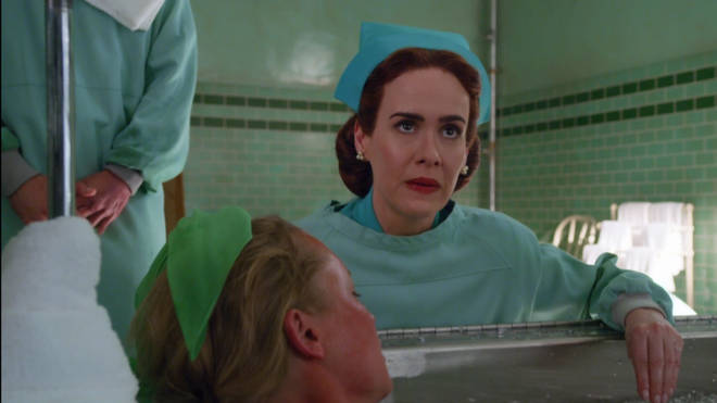 Sarah Paulson plays the title character in Ratched