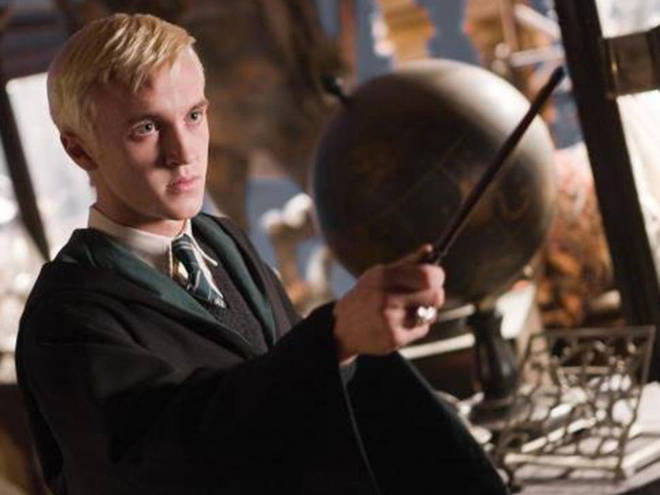 Visitors will be able to see Draco Malfoy's costumes through the ages
