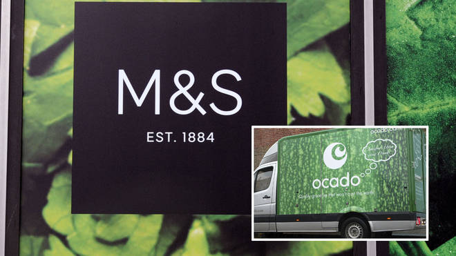 Marks and Spencer's have entered into a partnership with Ocado