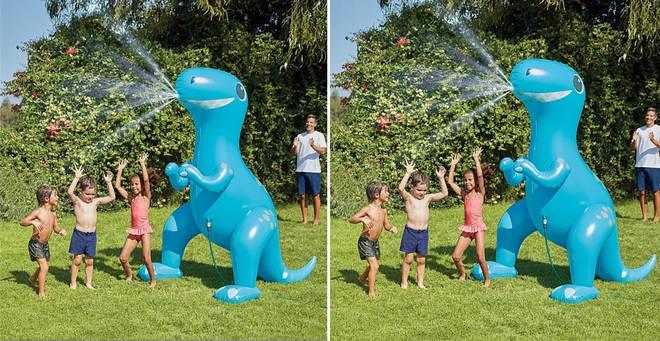 Fancy a massive dinosaur sprinkler? Read on...