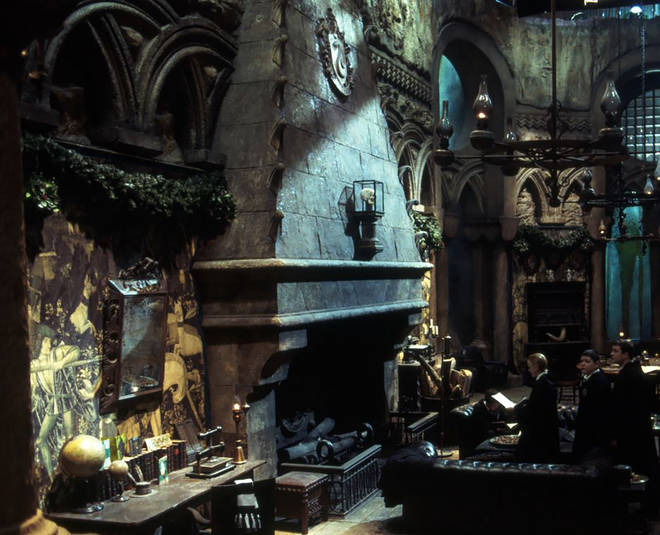 Fans will be able to visit the Slytherin common room