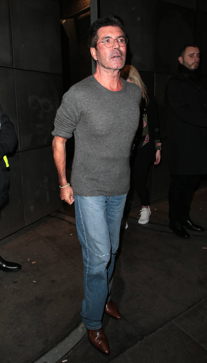 Simon Cowell fell from an electric bike