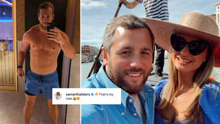 Paul Knightley showed off his weight loss on Instagram