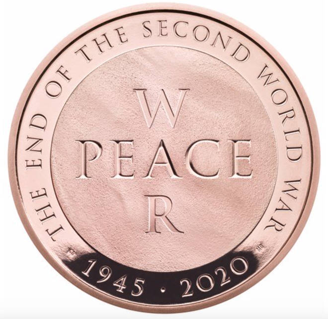 The coin was designed by Matt Dent and Christian Davies