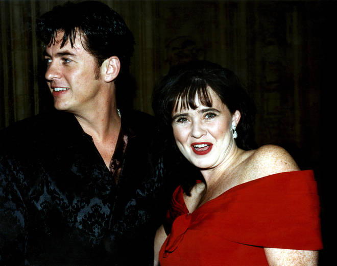 Coleen Nolan and Shane Richie pictured together in 1997