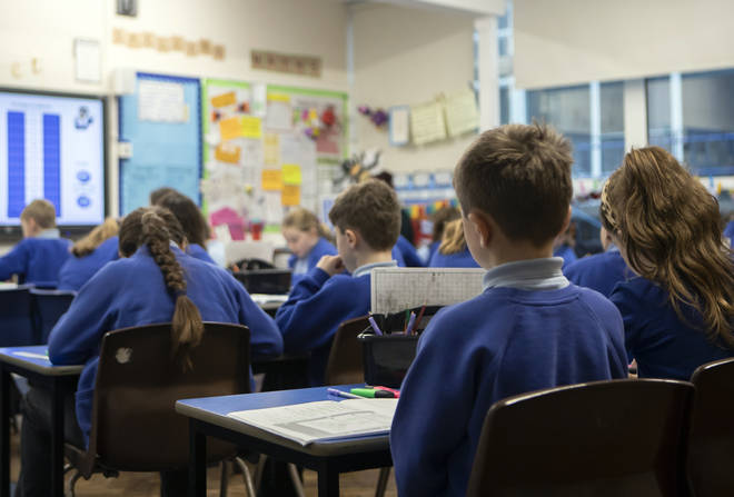 Some pupils returned to school in England on June 1