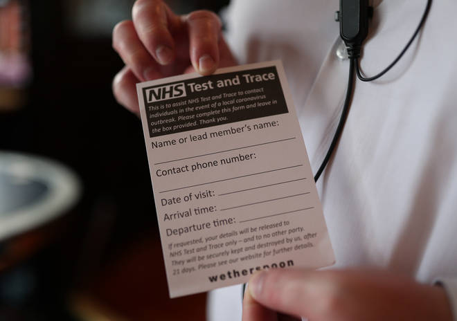 Around 6,000 tracers are being sent to local councils to improve the NHS' Test and Trace scheme