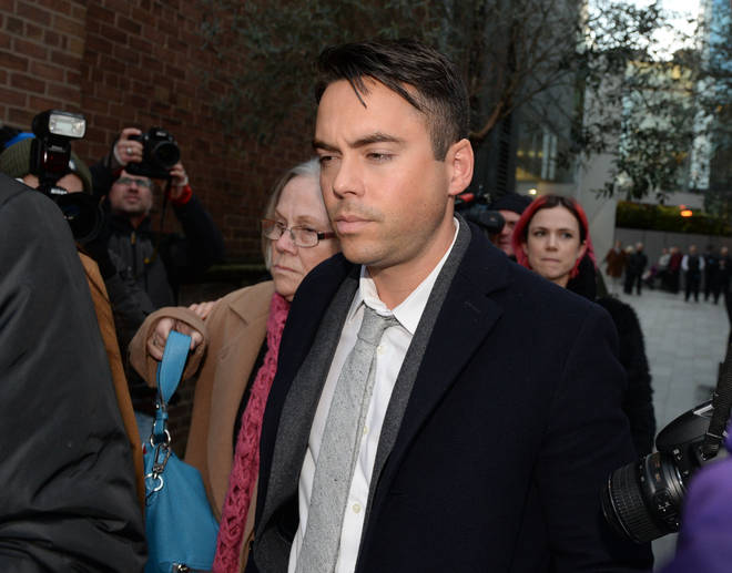 Bruno Langley was charged with sexually assaulting two women in Manchester