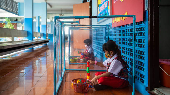 Nurseries in Thailand were closed in March