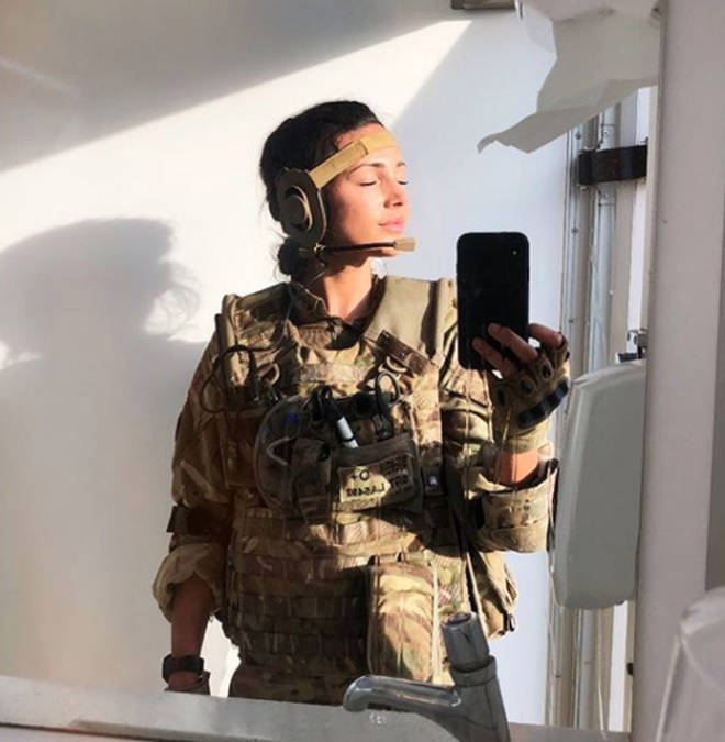 Michelle Keegan has played Georgie Lane in Our Girl since 2016