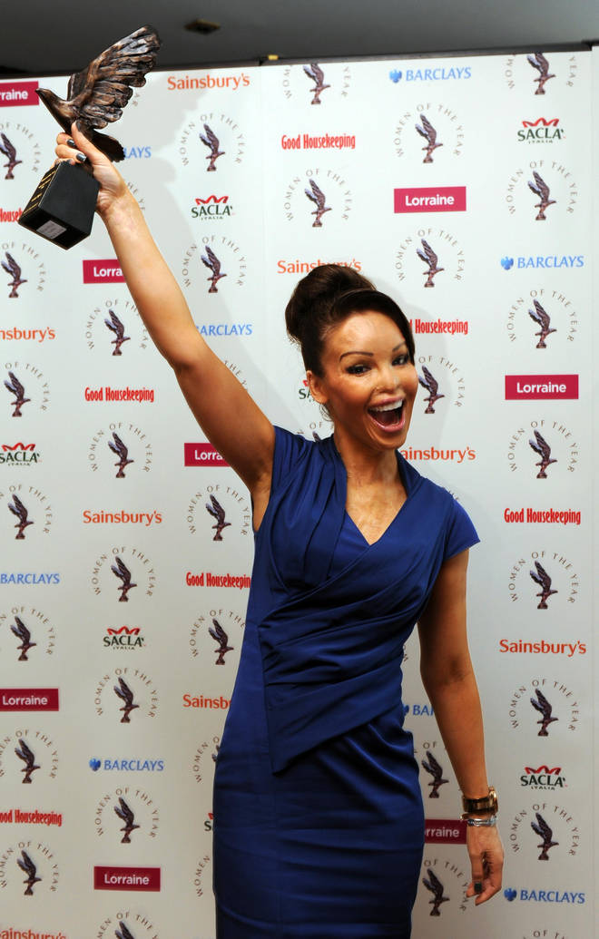 "Katie Piper won the ""You Can"" award at Women of the Year 2018"