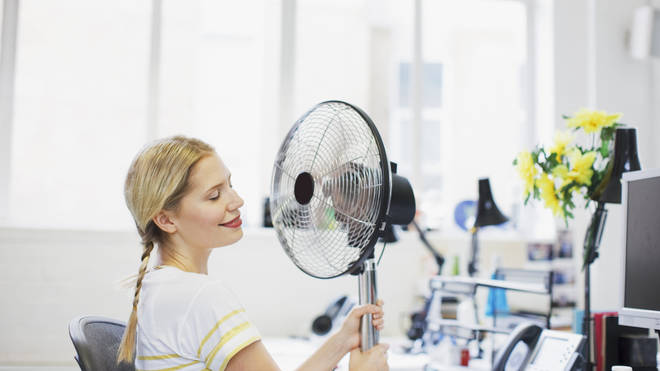 The UK heatwave has left some people struggling to focus on work