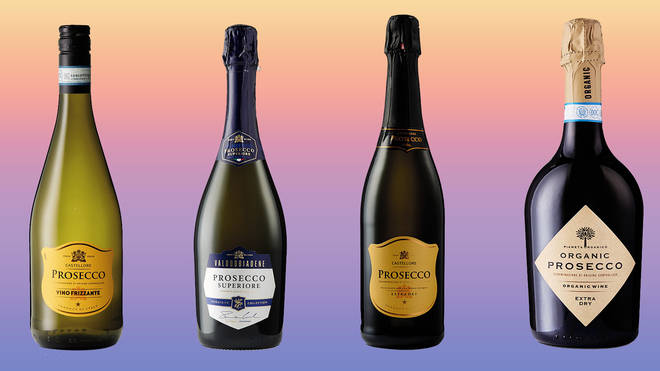 Aldi has a selection of Prosecco available in store now
