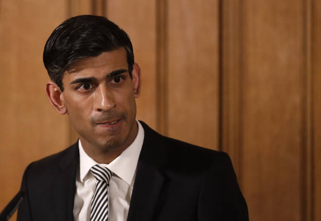 Rishi Sunak has said: 'Today's figures confirm that hard times are here'