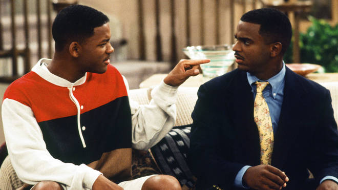 Will Smith and Alfonso Ribeiro starred in The Fresh Prince