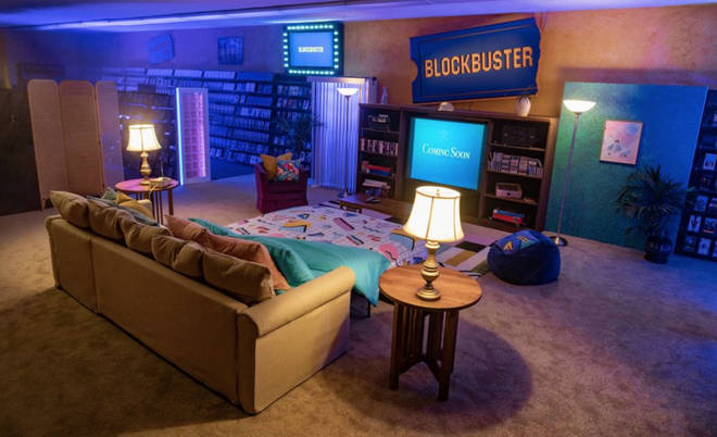 The lucky few nineties-lovers will be able to have a sleepover at Blockbuster