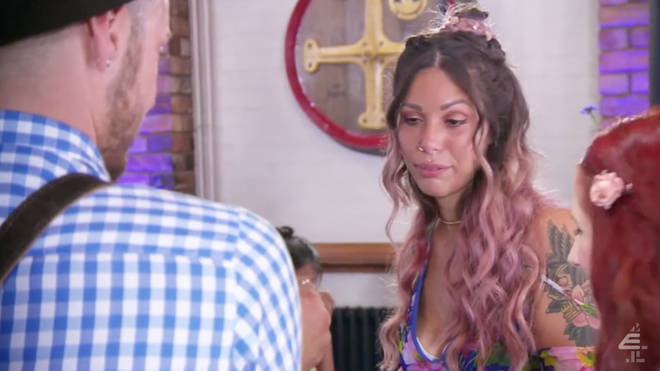 Sofia was less than impressed with Craig's choice of wedding dress and venue