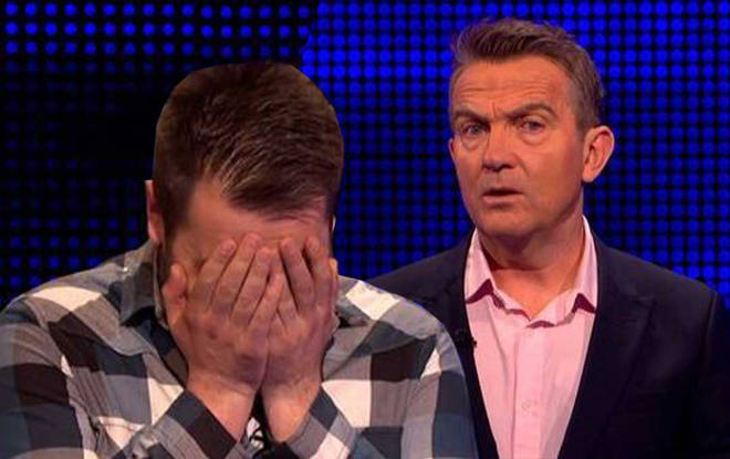 Bradley couldn't believe the contestant got the question so wrong