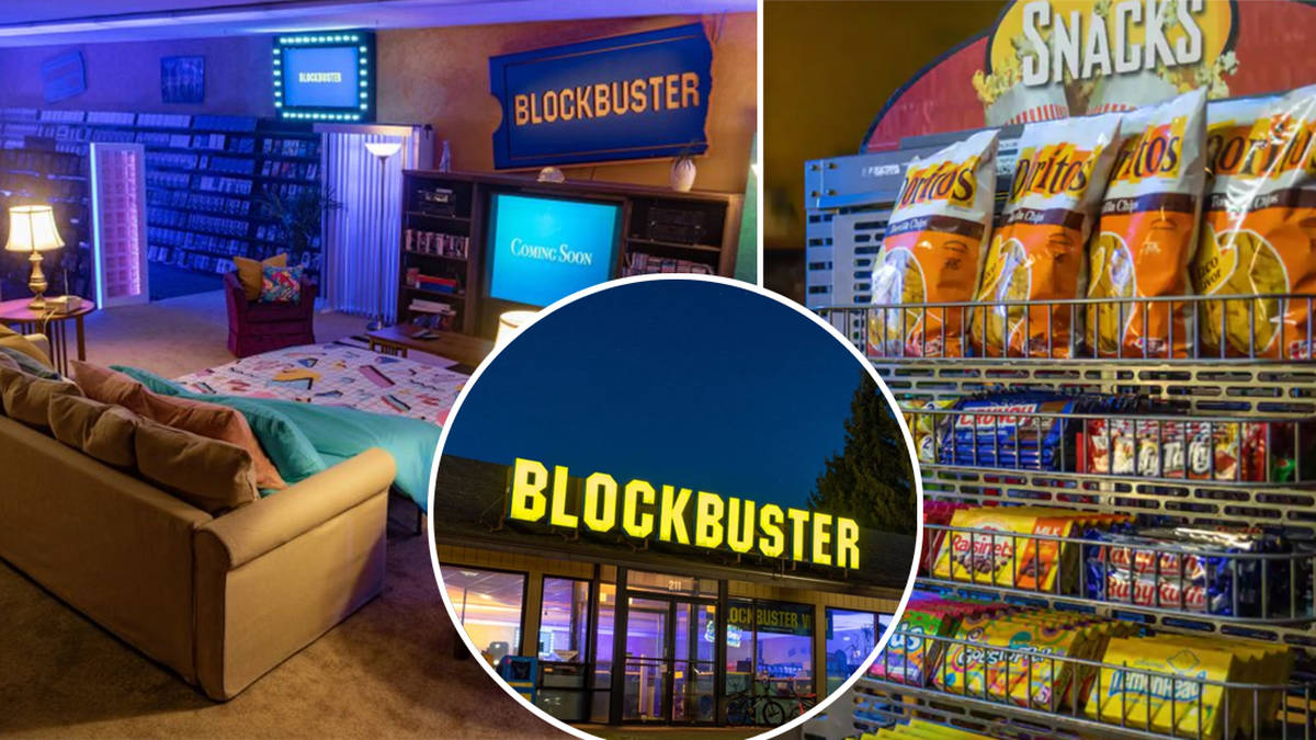 The Last Blockbuster Store Is Available To Rent On Airbnb Heart