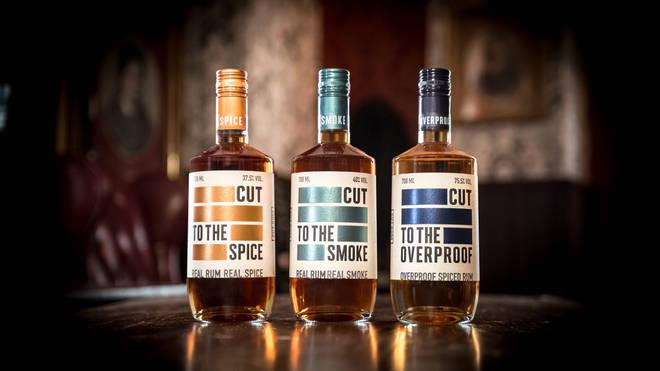 Cut Rum comes in three varieties