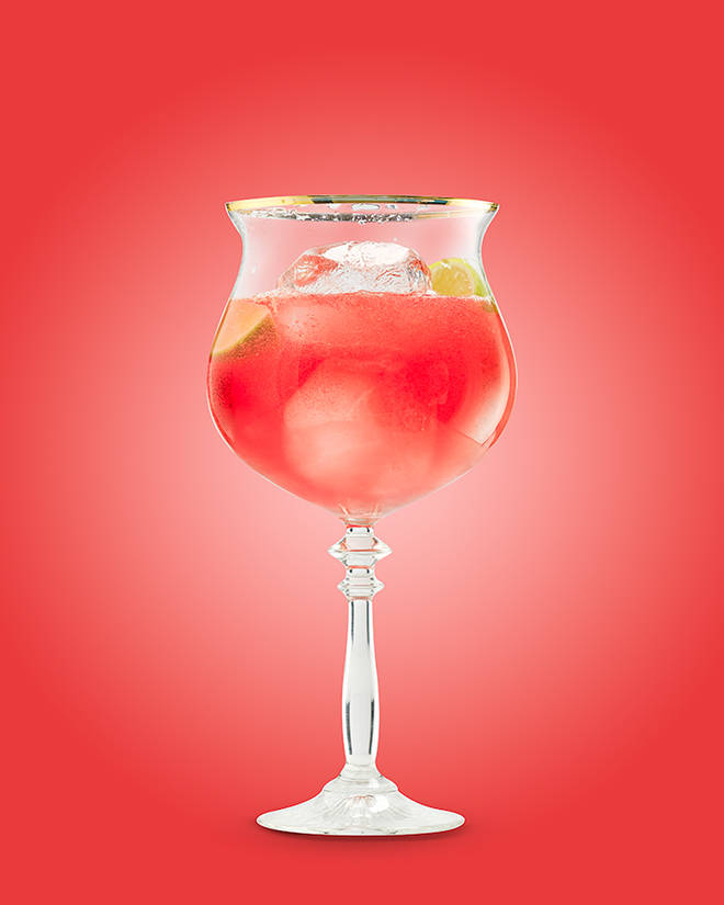 You'd never imagine this was a Prosecco cocktail