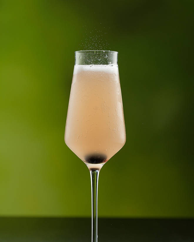 This simple four ingredient cocktail will impress guests