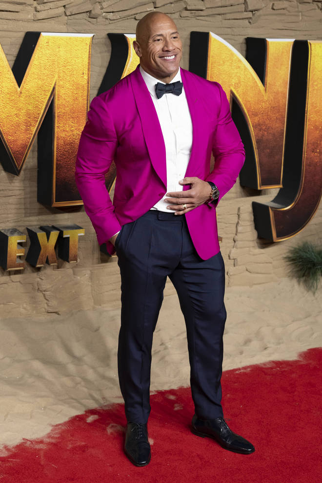 Dwayne Johnson is the highest paid actor of 2019/20