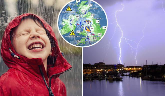 You can track when and where thunderstorms will be hitting your local area