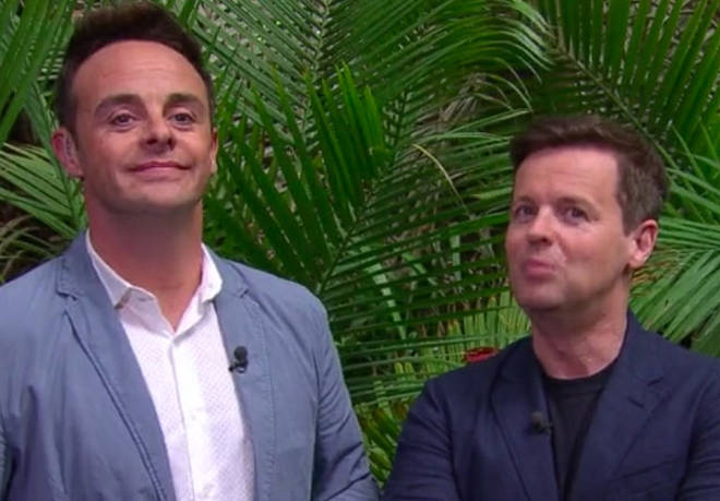 Ant and Dec will be presenting I'm A Celebrity from the UK